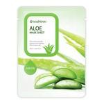 SeaNTree Aloe Mask Sheet, maseczka na bawełnianej płachcie z ekstraktem z aloesu, 20 ml