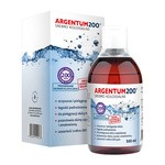 Argentum 200 (200ppm), srebro koloidalne, tonik, 500 ml