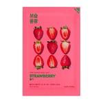 Holika Holika Pure Essence Mask Sheet - Strawberry, maseczka na bawełnianej płachcie z ekstraktem z truskawki, 20ml