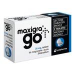 Maxigra Go, 25 mg, tabletki do rozgryzania i żucia, 2 szt.