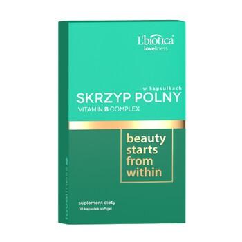 L`Biotica Skrzyp Polny Vitamin B Complex, kapsułki, 30 szt.