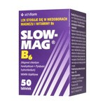 Slow-Mag B6, tabletki powlekane dojelitowe, 50 szt.