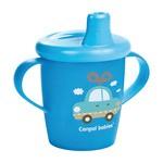 Canpol Babies, kubek niekapek Toys, kolor niebieski, 250 ml
