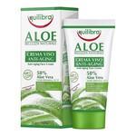 Equilibra, krem aloesowy do twarzy przeciw starzeniu się skóry, 50 ml