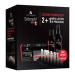 Zestaw Promocyjny Seboradin Men Przeciw wypadaniu włosów, szampon, 200 ml + ampułki, 5,5 ml x 14 szt. + lotion, 200 ml