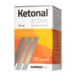 Ketonal Active, 50 mg, kapsułki twarde, 20 szt.