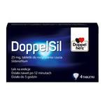 DoppelSil, 25 mg, tabletki do rozgryzania i żucia, 4 szt.
