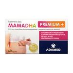 MamaDHA Premium+, kapsułki, 60 szt.