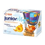 DOZ PRODUCT JuniorMag smak brzoskwiniowy, saszetki, 24 szt.