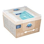 Canpol Babies, bezpieczne patyczki higieniczne dla niemowląt, 56 szt.