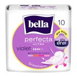 Bella Perfecta Ultra Violet, ultracienkie podpaski, zapachowe, 10 szt.