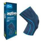 Prim Aqtivo Sport P701, elastyczny stabilizator stawu kolanowego z wyściółką i bocznymi wzmocnieniami, rozmiar XL
