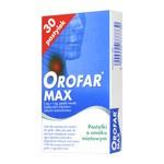 Orofar MAX, 2 mg+1 mg, pastylki twarde, 30 szt.