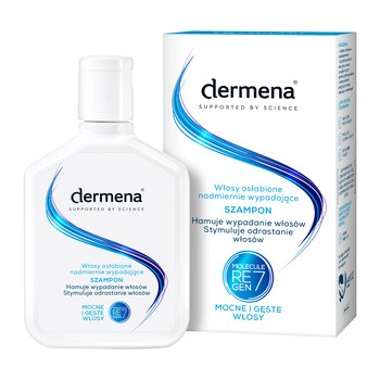 Dermena Hair Care, szampon hamujący wypadanie włosów, 200 ml
