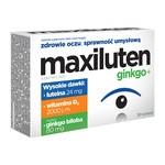 Maxiluten ginkgo+, tabletki, 30 szt.