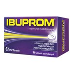Ibuprom, 200 mg, tabletki powlekane, 96 szt.