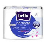 Bella Perfecta Ultra Maxi Blue, ultracienkie podpaski, bezzapachowe, 8 szt.
