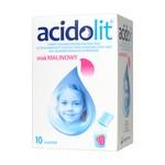 Acidolit, proszek, smak malinowy, 4,4 g, 10 saszetek