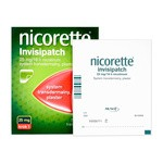 Nicorette Invisipatch, 25 mg/16 h, plastry transdermalne, 7 szt.