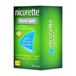 Nicorette Classic Gum, 4 mg, guma do żucia 105 szt. (import równoległy, LGO)