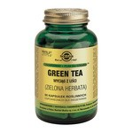 Solgar Green Tea Zielona Herbata, kapsułki, wyciąg z liści, 60 szt.