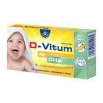 D-Vitum 400 j.m. witamina D DHA, kapsułki twist-off, 30 szt.