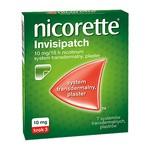 Nicorette invisipatch, 10 mg, plastry transdermalne, 7 szt.