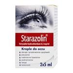 Starazolin, (0,5 mg/ml), krople do oczu, 2 x 5 ml