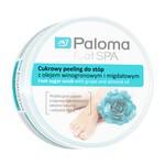 Paloma Foot Spa, cukrowy peeling do stóp z olejkiem winogronowym i migdałowym, 125 ml