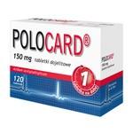Polocard, 150 mg, tabletki dojelitowe, 120 szt.