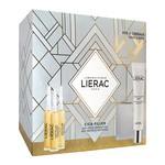 Zestaw Promocyjny Lierac Cica-Filler, przeciwzmarszczkowe serum regenerujące 2 x 10 ml + przeciwzmarszczkowy krem-żel regeneracyjny, 40 ml