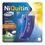 Niquitin Mini, 4 mg, tabletki do ssania, 20 szt.