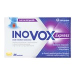 Inovox Express, pastylki twarde, smak miodowo-cytrynowy, 36 szt.