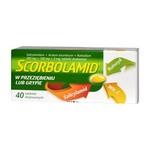 Scorbolamid, tabletki drażowane, 40 szt.