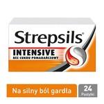Strepsils Intensive bez cukru pomarańczowy, 8,75 mg, pastylki twarde, 24 szt.