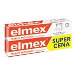 Zestaw Promocyjny Elmex, Przeciw Próchnicy, pasta do zębów, 75 ml x 2 opakowania