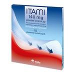 Itami, 140 mg, plastry lecznicze, 10 szt.