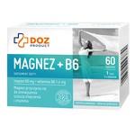 DOZ PRODUCT Magnez+B6, tabletki powlekane, 60 szt.