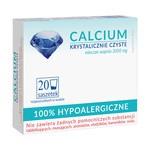 Calcium Krystalicznie Czyste, proszek, 100% hipoalergiczne, proszek w saszetkach, 20 szt.