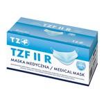 Maska medyczna TZF II R z gumkami, opakowanie kartonowe, 50 szt.