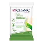 Cleanic Super Comfort, chusteczki do higieny intymnej, 10 szt.