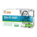 DOZ PRODUCT DHA+D3 baby, kapsułki twist-off, 30 szt.