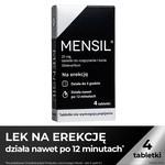 Mensil, 25 mg, tabletki do rozgryzania, żucia, 4 szt.