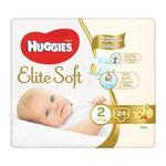 Huggies Elite Soft Newborn 2, pieluchy (4-6 kg), 24 szt.