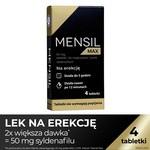 Mensil Max, 50 mg, tabletki do rozgryzania i żucia, 4 szt.