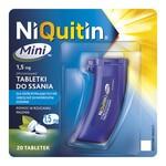 Niquitin Mini, 1,5 mg, tabletki do ssania, 20 szt.