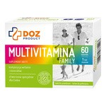 DOZ PRODUCT Multivitamina Family, tabletki powlekane, 60 szt.