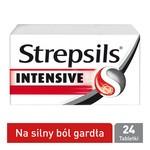 Strepsils Intensive, tabletki do ssania, 24 szt.
